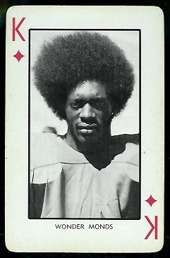 1973 Nebraska Playing Cards #13D - Wonder Monds - nm
