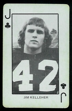 1974 Colorado Playing Cards #11C - Jim Kelleher - ex