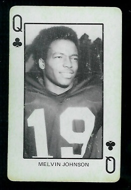 1974 Colorado Playing Cards #12C - Melvin Johnson - vg-ex