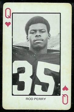1974 Colorado Playing Cards #12H - Rod Perry - ex