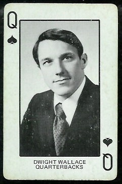 1974 Colorado Playing Cards #12S - Dwight Wallace - ex