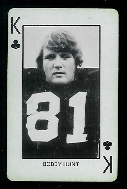 1974 Colorado Playing Cards #13C - Bobby Hunt - ex