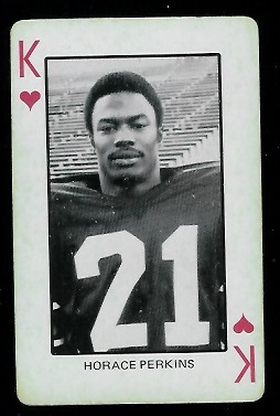 1974 Colorado Playing Cards #13H - Horace Perkins - ex
