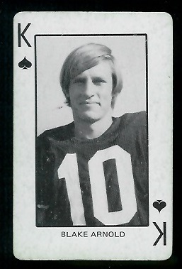 1974 Colorado Playing Cards #13S - Blake Arnold - vg-ex