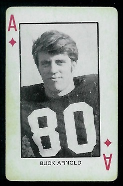 1974 Colorado Playing Cards #1D - Buck Arnold - ex