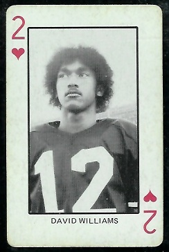 1974 Colorado Playing Cards #2H - Dave Williams - ex
