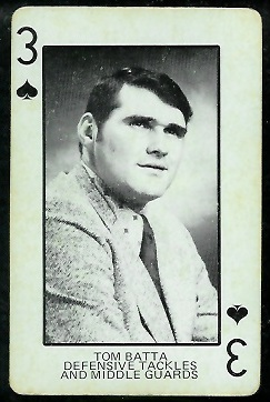 1974 Colorado Playing Cards #3S - Tom Batta - ex