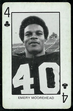1974 Colorado Playing Cards #4C - Emery Moorehead - ex