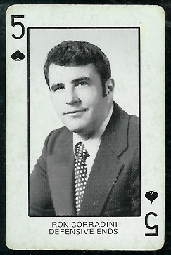 1974 Colorado Playing Cards #5S - Ron Corradini - ex