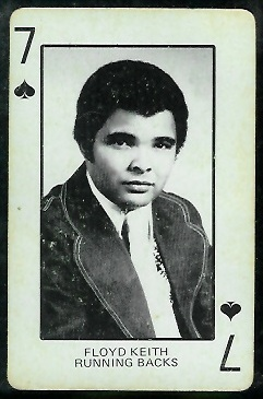 1974 Colorado Playing Cards #7S - Floyd Keith - ex