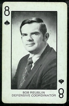 1974 Colorado Playing Cards #8S - Bob Reublin - ex