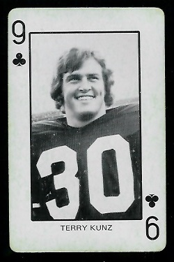 1974 Colorado Playing Cards #9C - Terry Kunz - ex