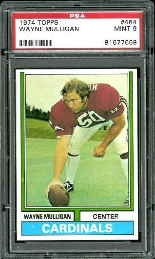 1974 Topps #464 - Wayne Mulligan - PSA 9