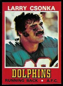 1974 Wonder Bread #5 - Larry Csonka - nm+