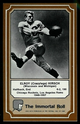 1975 Fleer Immortal Roll #29 - Elroy Hirsch - nm+
