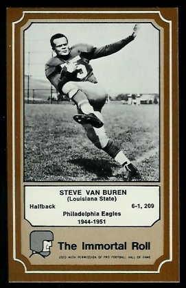 1975 Fleer Immortal Roll #47 - Steve Van Buren - nm-mt oc