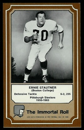 1975 Fleer Immortal Roll #64 - Ernie Stautner - nm+