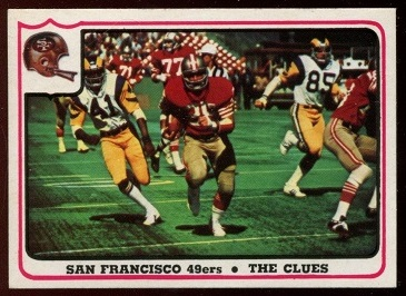1976 Fleer Team Action #49 - San Francisco 49ers - The Clues - nm+
