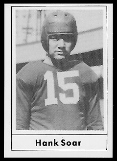 1977 Touchdown Club #22 - Hank Soar - nm-mt oc