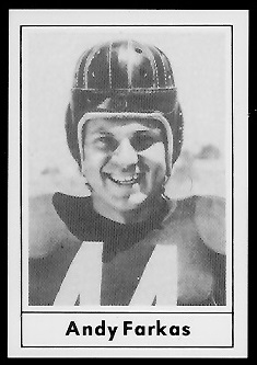 1977 Touchdown Club #29 - Andy Farkas - nm-mt