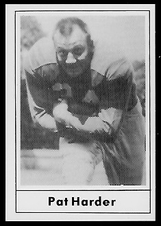 1977 Touchdown Club #34 - Pat Harder - nm