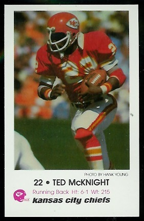 1979 Chiefs Police #6 - Ted McKnight - nm-mt