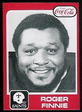 1979 Coke Saints #24 - Roger Finnie - nm-mt
