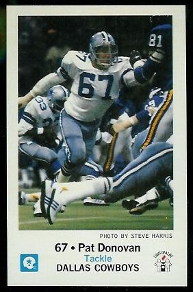1979 Cowboys Police #2 - Pat Donovan - mint