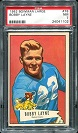 1952 Bowman Large Bobby Layne football card