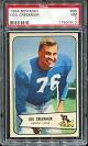 1954 Bowman Lou Creekmur football card