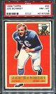 1956 Topps Joe Schmidt rookie football card