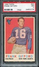 1959 Topps Frank Gifford football card