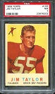1959 Topps Jim Taylor rookie football card