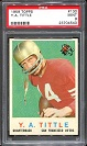 1959 Topps Y.A. Tittle football card