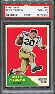 1960 Fleer Billy Cannon rookie football card