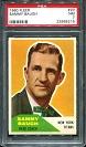 1960 Fleer Sammy Baugh football card