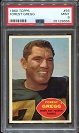 1960 Topps Forrest Gregg rookie football card