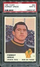 1961 Fleer Forrest Gregg football card