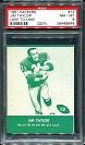 1961 Lake to Lake Jim Taylor football card