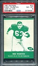 1961 Lake to Lake Packers Fred Thurston football card