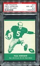 1961 Lake to Lake Packers Paul Hornung football card