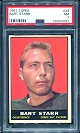 1961 Topps Bart Starr football card