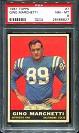 1961 Topps Gino Marchetti football card