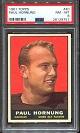 1961 Topps Paul Hornung football card