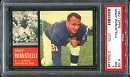 1962 Topps Andy Robustelli football card