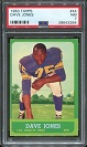 1963 Topps Deacon Jones rookie football card