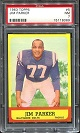 1963 Topps Jim Parker football card