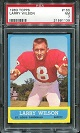 1963 Topps Larry Wilson rookie football card