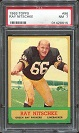 1963 Topps Ray Nitschke rookie football card