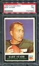1965 Philadelphia Bart Starr football card